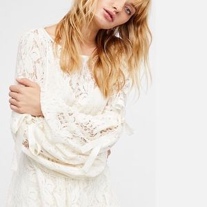 Brand new Free People Lace Mini Dress NWT